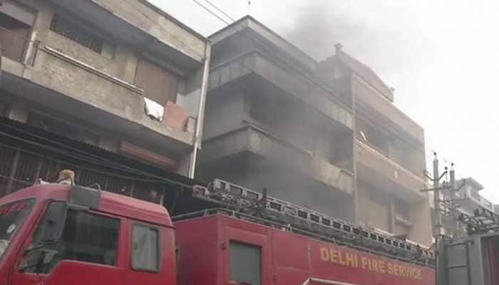 Fire breaks out at shoe factory in Delhi's Narela, 12 fire tenders rushed