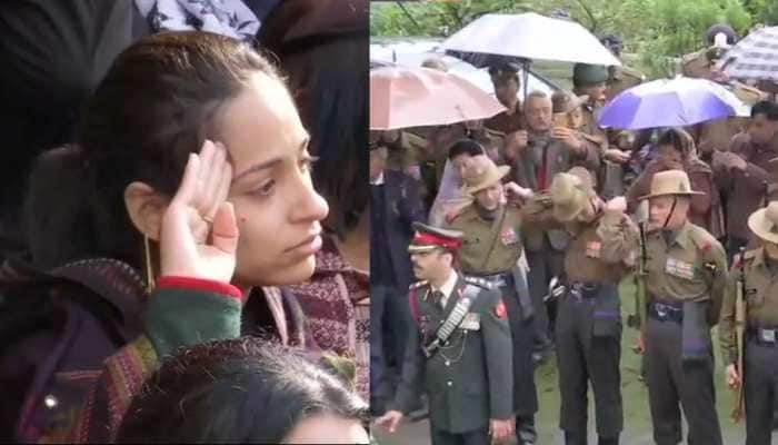 Thousands pay homage to Major Vibhuti Dhoundiyal, who died fighting terrorists in J&K's Pulwama