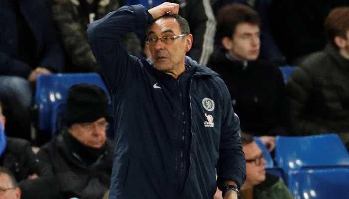Maurizio Sarri feels the heat as Chelsea fans turn against the Italian coach