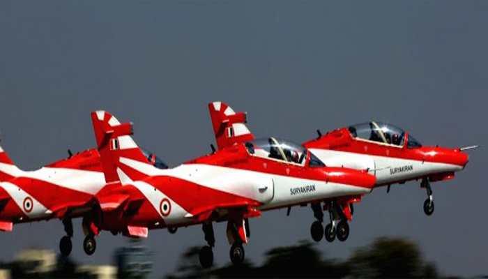 No Surya Kiran aerobatics at Aero India 2019 in Bengaluru: IAF