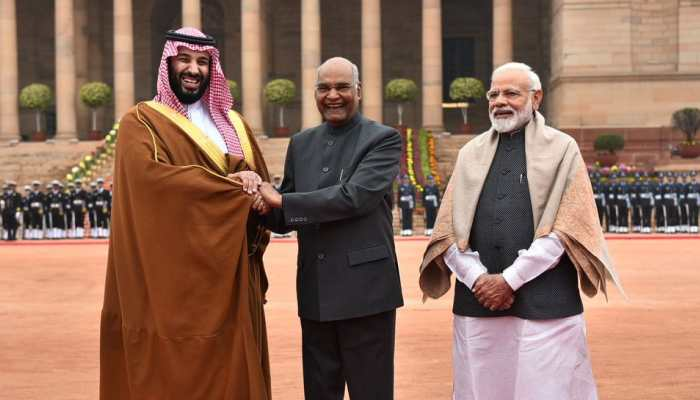Ahead of talks with PM Narendra Modi, Saudi Crown Prince Mohammed bin Salman bats for strong ties with India