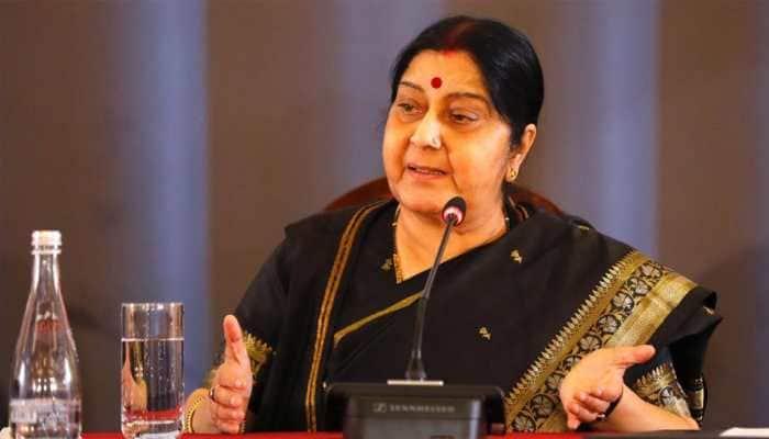 Swaraj, Wang to meet in China amid row over JeM chief Azhar's listing as global terrorist