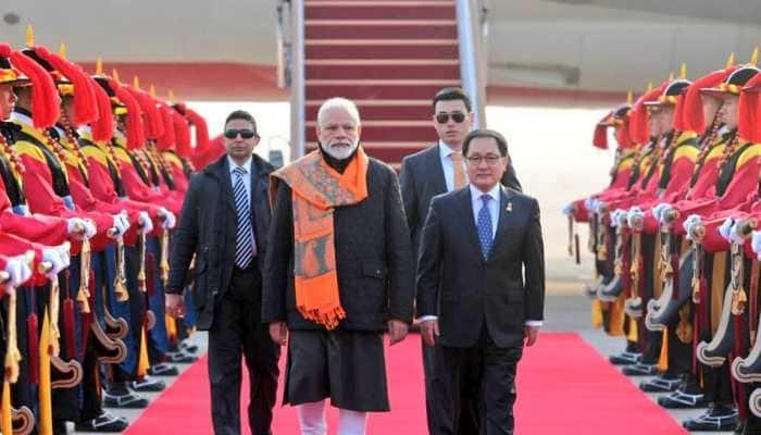PM Narendra Modi arrives in South Korea on two-day visit, greeted with 'Bharat Mata Ki Jai' slogans