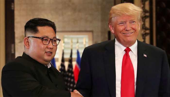 Days before summit, Trump raises prospect of easing North Korea sanctions