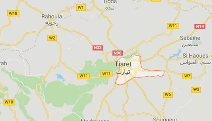 Algeria military plane crash kills two