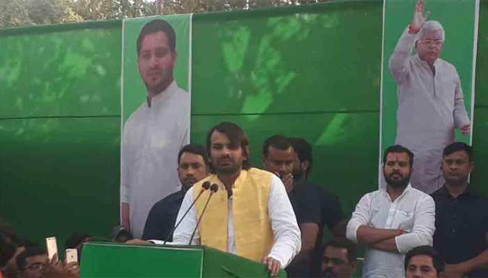 Tej Pratap Yadav dares BJP, says RJD will build Ram Mandir in Ayodhya