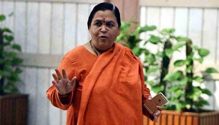 Uma Bharti takes a dig at SP-BSP alliance, says Mayawati can call me if she gets attacked again