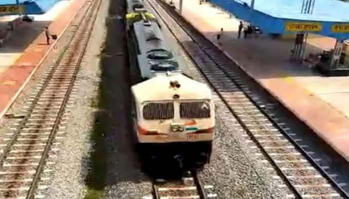 Railway conducts experimental run of 2-kilometre long train
