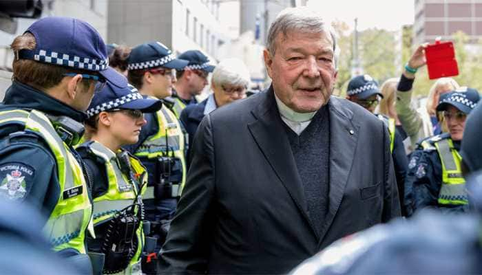 Top Vatican cleric Cardinal Pell found guilty of abusing two choir boys 22 years ago