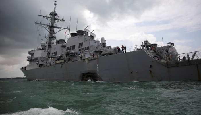 US Navy ships pass through strategic Taiwan Strait, riling China
