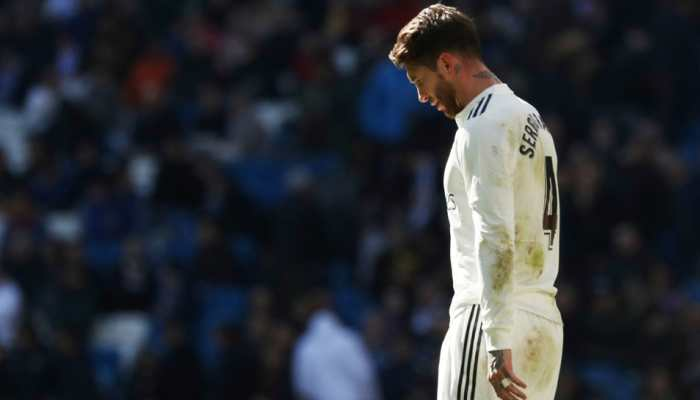 Real Madrid captain Sergio Ramos charged with getting booked deliberately