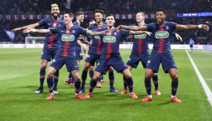 Angel Di Maria double leads PSG to French Cup semis