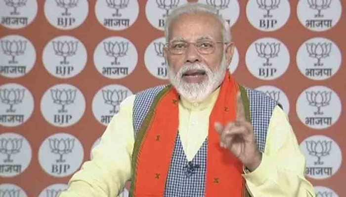 PM Narendra Modi addresses BJP workers amid India-Pakistan tensions, says 'India will work as one, stand as one'