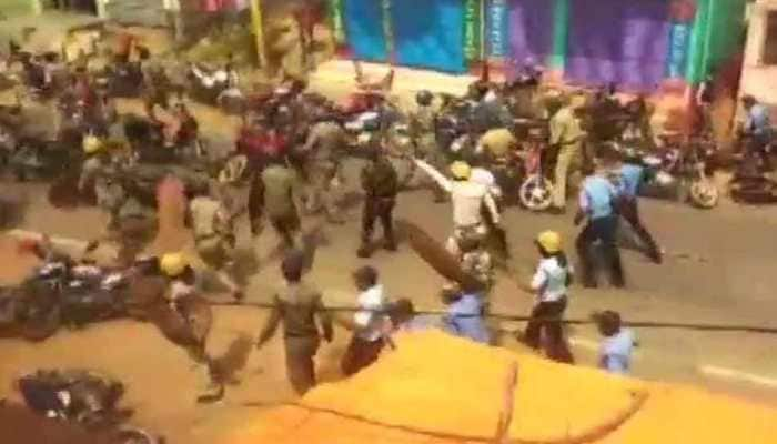 Clashes as police stop BJP bike rallies in West Bengal, several injured
