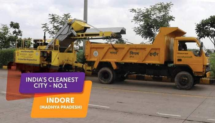 Indore awarded 'cleanest city' tag for third straight year in row