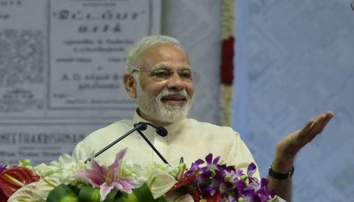 PM Narendra Modi donates Rs 21 lakh to Kumbh Mela sanitation workers