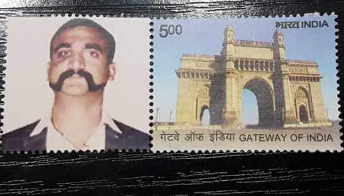Man gets personalised postal stamp with Wing Commander Abhinandan Varthaman's image