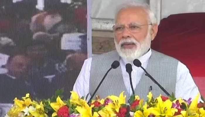PM Narendra Modi attacks Congress for handling of terror incidents post-26/11