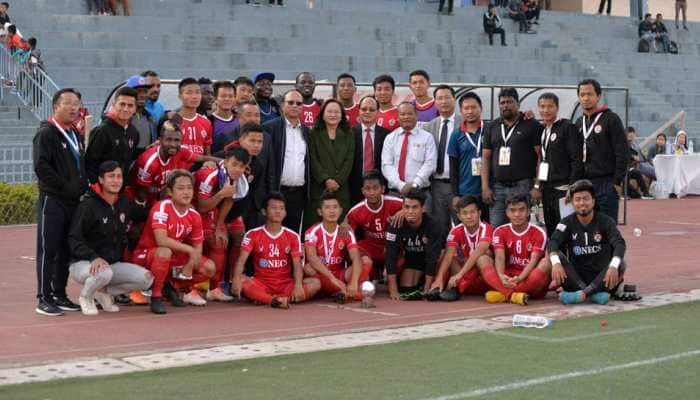 I-League: Willis Plaza's opener goes in vain as Ansumana  Kromah steals 2-1 win for Aizawl