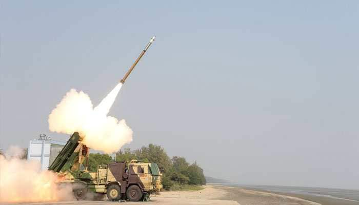 Pinaka guided extended range rockets successfully test-fired by DRDO