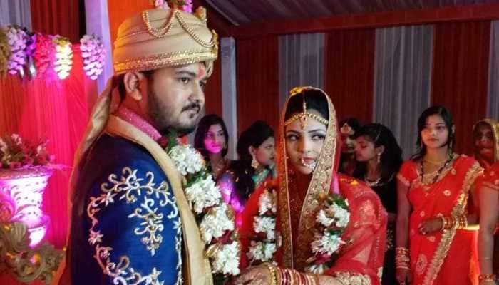 Arvind Akela Kallu's brother Ashutosh Chaubey ties the knot