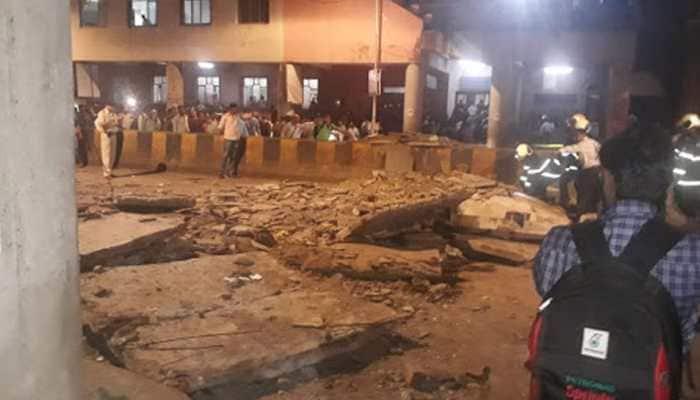 Mumbai foot overbridge collapse: Maharashtra CM announces ex-gratia of Rs 5 lakh to kin of deceased