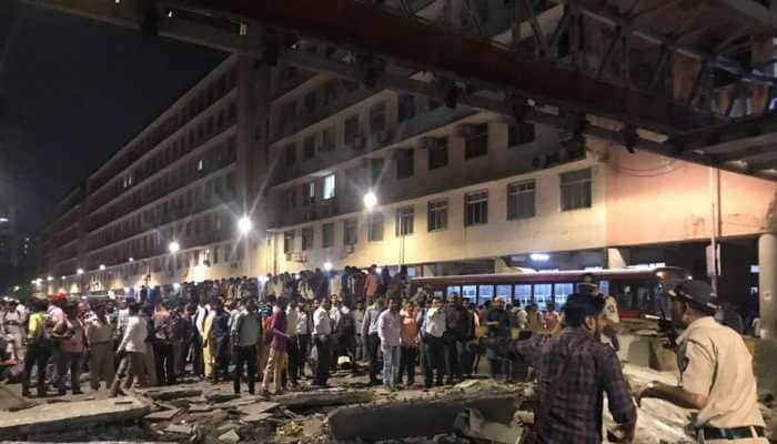 Mumbai Police issues traffic advisory after foot overbridge collapses near CST station