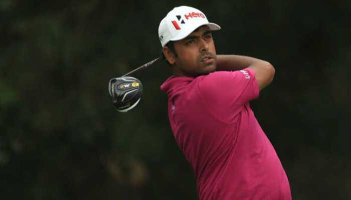 Players Championship: Indian golfer Anirban Lahiri registers two-under 70 in tough conditions
