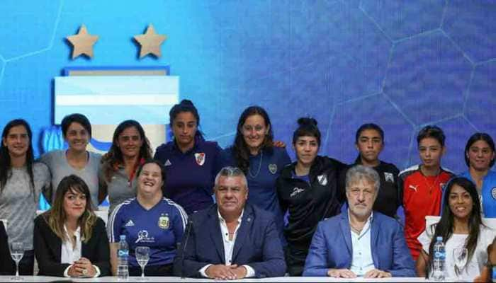 Argentine FA announce start of professional league for women in June