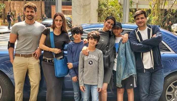 Sonali Bendre enjoys Sunday brunch with husband Goldie Behl, BFF Sussanne Khan and Hrithik Roshan—Pic