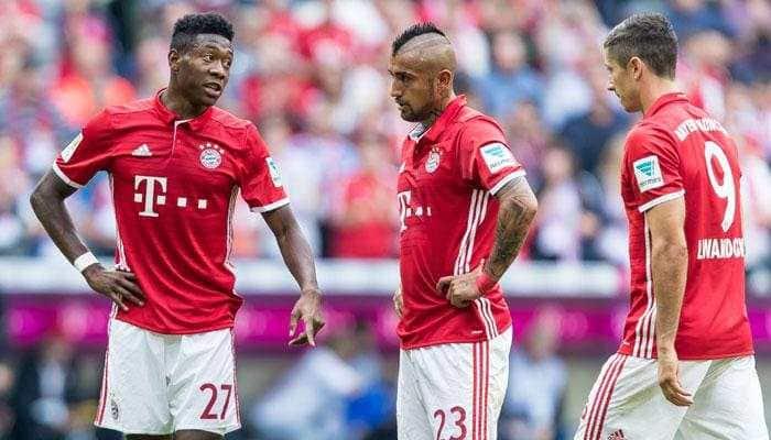Bundesliga: James Rodriguez's treble helps Bayern Munich retain top spot with Mainz rout