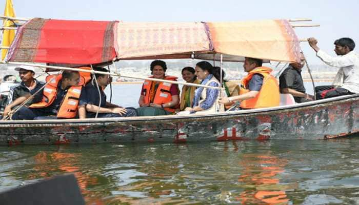 Boat ride cannot ensure win: BJP reacts to Priyanka Vadra Gandhi's 'Ganga-yatra'