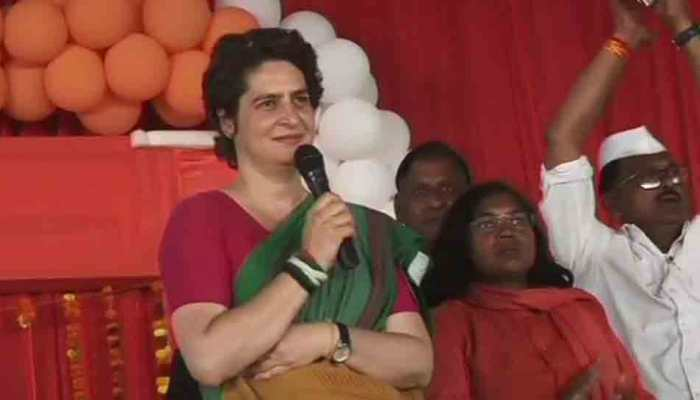 The rich have chowkidars but farmers don't: Priyanka Gandhi's dig at PM Narendra Modi