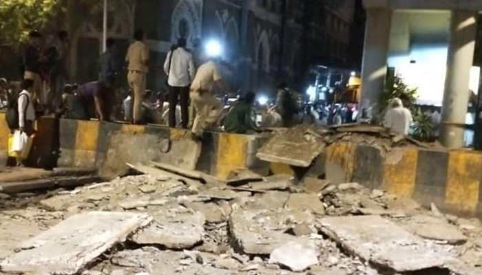 Collapsed Mumbai foot overbridge auditor Neeraj Kumar Desai arrested, booked for negligence