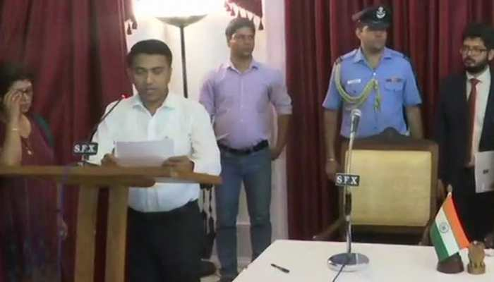 Big responsibility, will take forward Manohar Parrikar's work: Goa CM Pramod Sawant