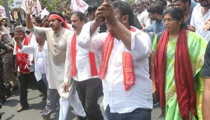 Telugu star and Jana Sena founder Pawan Kalyan to contest from Gajuwaka & Bhimavaram constituencies