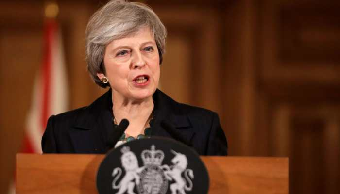 May seeks Brexit delay after third vote on her deal is stymied