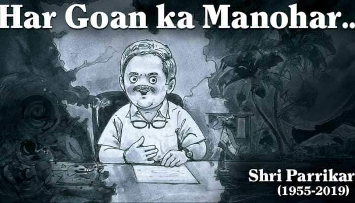 Amul's tribute to Manohar Parrikar echoes in Goa Assembly