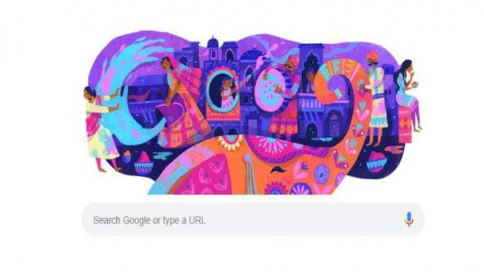 Happy Holi: Google marks festival of colours with doodle