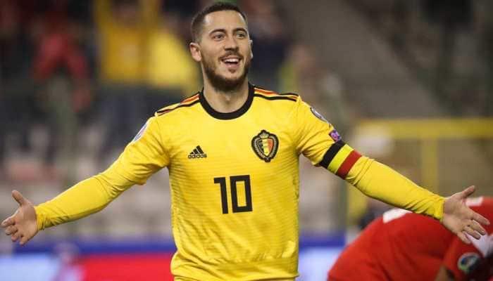 Belgium overcome goalkeeper Thibaut Courtois's howler to beat Russia 3-1