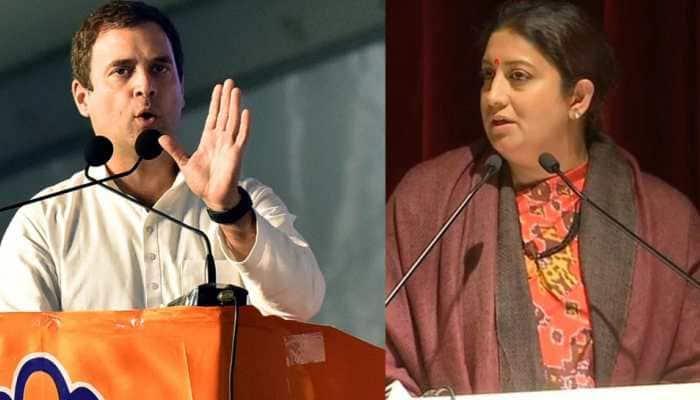Smriti Irani mocks Rahul with #BhagRahulBhag as Congress workers demand he contest from Kerala