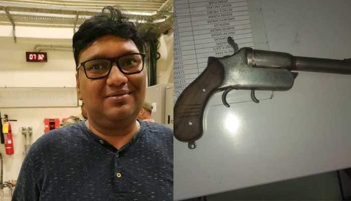 Man nabbed for carrying pistol in Delhi Metro
