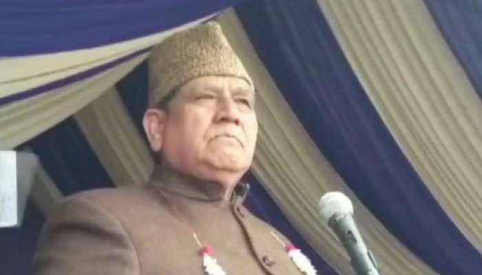 Will abuse those who abuse them: NC leader Akbar Lone raises pro-Pakistan slogans