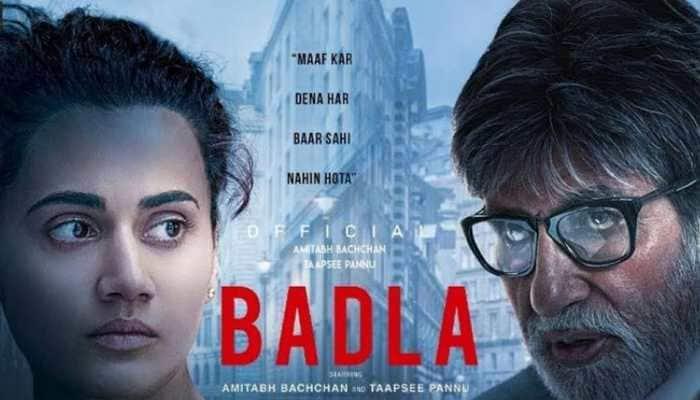 Amitabh Bachchan-Taapsee Pannu 'Badla' continues its winning streak at Box Office