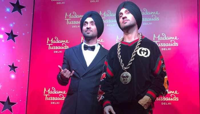 Diljit Dosanjh unveils his wax statue at Madame Tussauds Delhi—Pics