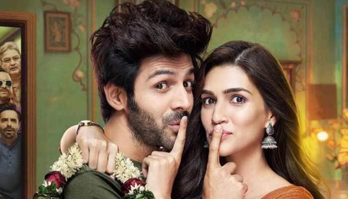 Kartik Aaryan-Kriti Sanon starrer Luka Chuppi earns  over Rs 91 crore at Box Office