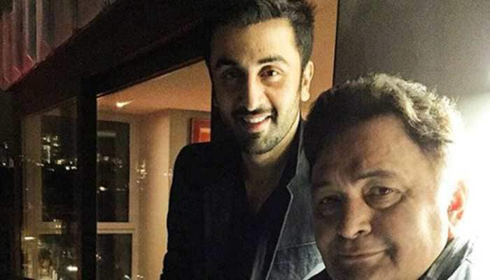 Ranbir Kapoor opens up on father Rishi Kapoor's insecurities, gets emotional after his big win—Watch