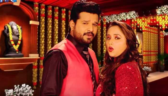 Rani Weds Raja title song taps Rani Chatterjee-Ritesh Pandey's sizzling chemistry—Watch