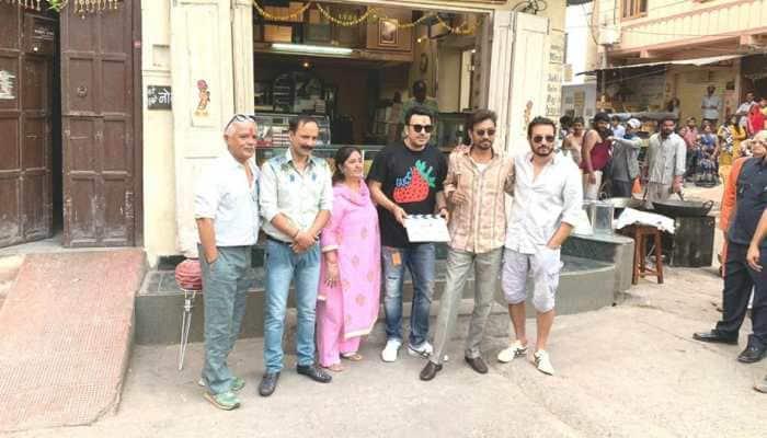 Finally! Irrfan Khan begins shooting for 'Hindi Medium' sequel titled 'Angrezi Medium'—Pics