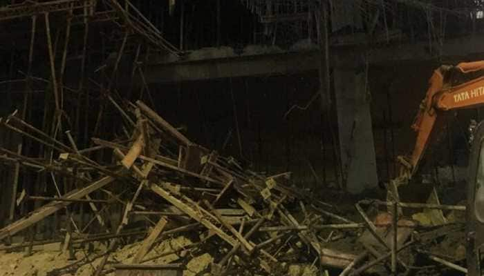 2 killed after under-construction building collapses in Bengaluru's Yeshwanthpur